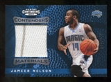 2012/13 Panini Contenders Materials #21 Jameer Nelson /149