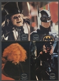 Topps 1992 Batman Returns Stadium Club Complete 100 Card Set