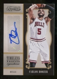 2012/13 Panini Timeless Treasures Timeless Talents Signatures #3 Carlos Boozer Autograph /99