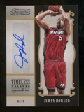 2012/13 Panini Timeless Treasures Timeless Talents Signatures #31 Juwan Howard Autograph /99