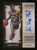 2012/13 Panini Timeless Treasures Timeless Signatures #22 Sleepy Floyd Autograph /199