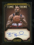 2012/13 Panini Timeless Treasures Time to Shine Autographs #15 Bradley Beal Autograph /99
