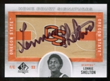 2012/13 Upper Deck SP Authentic Home Court Signatures #LS Lonnie Shelton E Autograph