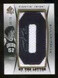 2012/13 Upper Deck SP Authentic By The Letter Signatures #BL Bill Laimbeer/Serial 75; Print Run 675 Autograph