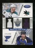 2012/13 Panini Certified Path to the Cup Quarter Finals Dual Jerseys #6 Martin Havlat/Patrik Berglund /250
