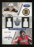 2012/13 Panini Certified Path to the Cup Quarter Finals Dual Jerseys #34 Alex Ovechkin/Tyler Seguin /250