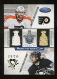 2012/13 Panini Certified Path to the Cup Quarter Finals Dual Jerseys #43 Jakub Voracek/Kris Letang /250