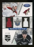 2012/13 Panini Certified Path to the Cup Conference Finals Dual Jerseys #3 Alec Martinez/Paul Bissonnette /50