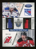 2012/13 Panini Certified Path to Cup Conference Finals Dual Jerseys Prime #8 Patrik Elias Ryan Callahan 8/10