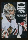2012/13 Panini Certified #117 Corey Crawford MM /999