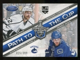 2012/13 Panini Certified Path to the Cup Quarter Finals #2 Henrik Sedin/Trevor Lewis /399