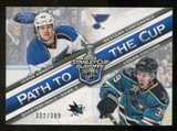 2012/13 Panini Certified Path to the Cup Quarter Finals #8 Jason Arnott/Logan Couture /399