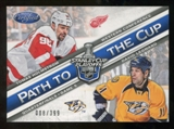 2012/13 Panini Certified Path to the Cup Quarter Finals #21 David Legwand/Tomas Holmstrom /399