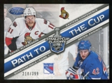 2012/13 Panini Certified Path to the Cup Quarter Finals #22 Artem Anisimov/Daniel Alfredsson /399