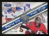 2012/13 Panini Certified Path to the Cup Quarter Finals #24 Brian Boyle/Craig Anderson /399