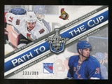 2012/13 Panini Certified Path to the Cup Quarter Finals #28 Chris Kreider/Nick Foligno /399
