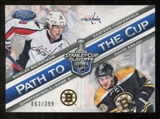 2012/13 Panini Certified Path to the Cup Quarter Finals #30 David Krejci/Nicklas Backstrom /399