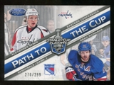 2012/13 Panini Certified Path to the Cup Semifinals #10 Alexander Semin/Brad Richards /299