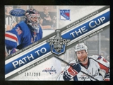 2012/13 Panini Certified Path to the Cup Semifinals #14 Dennis Wideman/Henrik Lundqvist /299