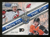 2012/13 Panini Certified Path to the Cup Semifinals #17 James van Riemsdyk/Zach Parise /299