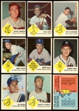 1963 Fleer Baseball Complete Set (EX-MT)