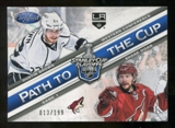 2012/13 Panini Certified Path to the Cup Conference Finals #1 Dustin Brown/Shane Doan /199