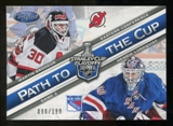 2012/13 Panini Certified Path to the Cup Conference Finals #7 Henrik Lundqvist/Martin Brodeur /199