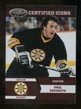 2012/13 Panini Certified Icons #14 Phil Esposito /250