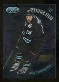 2012/13 Panini Certified Stars #19 Joe Thornton /999