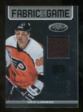 2012/13 Panini Certified Fabric of the Game #54 Eric Lindros /299