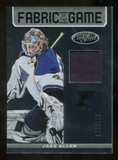 2012/13 Panini Certified Fabric of the Game #3 Jake Allen /299