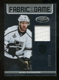 2012/13 Panini Certified Fabric of the Game #47 Mike Richards /299