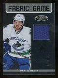 2012/13 Panini Certified Fabric of the Game #72 Daniel Sedin /299