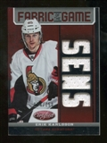 2012/13 Panini Certified Fabric of the Game Mirror Red Jersey Team Die Cut #79 Erik Karlsson /150