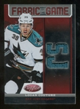 2012/13 Panini Certified Fabric of the Game Mirror Red Jersey Team Die Cut #60 Logan Couture /150