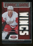 2012/13 Panini Certified Fabric of the Game Mirror Red Jersey Team Die Cut #74 Nicklas Lidstrom /150