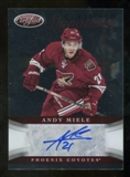 2012/13 Panini Certified Signatures #35 Andy Miele Autograph