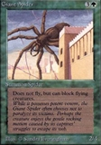 Magic the Gathering Alpha Single Giant Spider - NEAR MINT (NM)