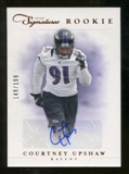 2012 Panini Prime Signatures #182 Courtney Upshaw Autograph /199
