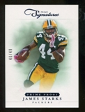 2012 Panini Prime Signatures Prime Proof Blue #126 James Starks /49