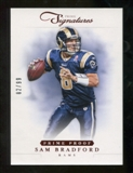 2012 Panini Prime Signatures Prime Proof Red #17 Sam Bradford /99