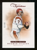 2012 Panini Prime Signatures Prime Proof Red #141 Boomer Esiason /99