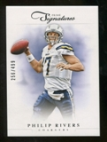 2012 Panini Prime Signatures #13 Philip Rivers /499