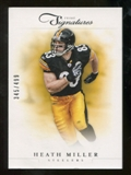 2012 Panini Prime Signatures #77 Heath Miller /499
