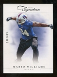 2012 Panini Prime Signatures #90 Mario Williams /499