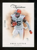 2012 Panini Prime Signatures #117 Greg Little /499