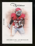 2012 Panini Prime Signatures #125 Derrick Johnson /499