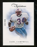 2012 Panini Prime Signatures #154 Earl Campbell /499