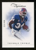 2012 Panini Prime Signatures #155 Thurman Thomas /499
