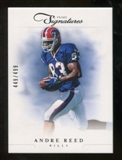 2012 Panini Prime Signatures #167 Andre Reed /499